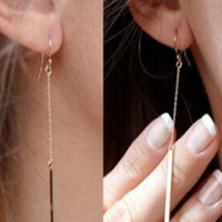 Dangling Bars Fashion Earrings (2 Colors)