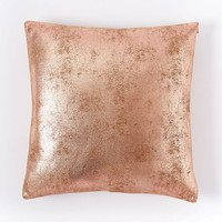 St. Jude Metallic Foil Pillow Cover - Rose Gold