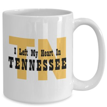 Heart In Tennessee - 15oz Mug