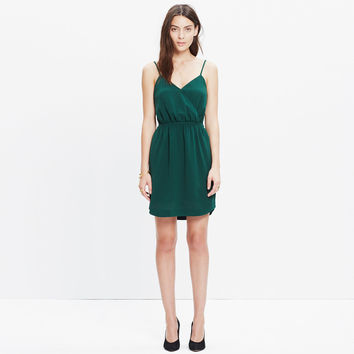 Wrap-Front Cami Dress in Bowling Green