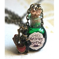 Witch's Brew Potion Necklace