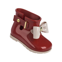 Mini Brand Baby Jelly shoes For Girl Shoes Children Bow Rain Boot Girls Sandal Cute Girls Shoes Kids Rainboots
