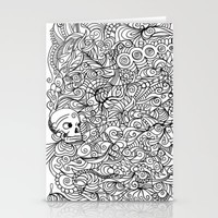 MEMENTO MORIARTY Stationery Cards by Allison Kolarik | Society6