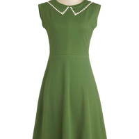 Myrtlewood Long Sleeveless A-line Author Outings Dress