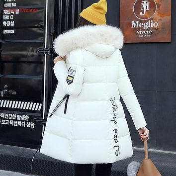 Fairy Dreams Women's Jacket Made Of Goose Feather Female Winter Coat Down Parka Pink White Gray Green Red Black Fashion Outewear