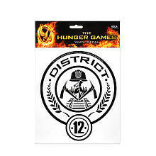 "The Hunger Games Movie Vinyl Decals - District 12 - NECA - Toys ""R"" Us"