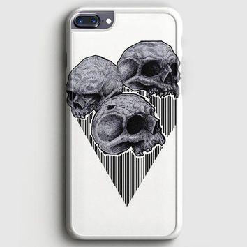 Skull Wooden iPhone 8 Plus Case | casescraft