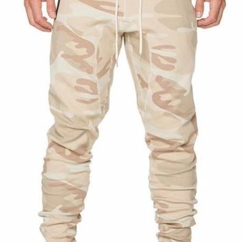 Men's Autumn Camouflage Joggers