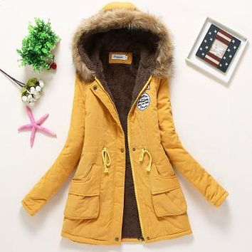 Winter Coat Hooded Jacket