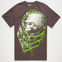 Metal Mulisha Chevster Mens T-Shirt Charcoal  In Sizes