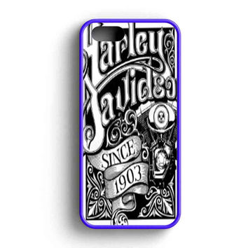 Harley Davidson Art Sign  iPhone 5 Case iPhone 5s Case iPhone 5c Case