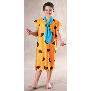 Boy's Costume: Fred Flintstone | Medium
