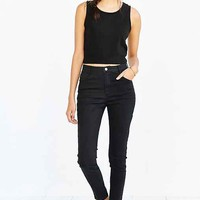 Native Youth High-Rise Skinny Jean - Black