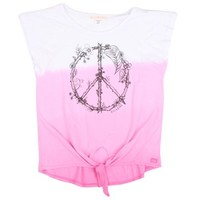 Billabong Girls' Let Me In T-Shirt Pink Punch