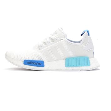New Arrival Official Originals Women's Adidas NMD-R1 BOOST Running Shoes Breathable Sports Sneakers