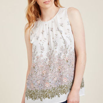Sustained Sweetness Sleeveless Top