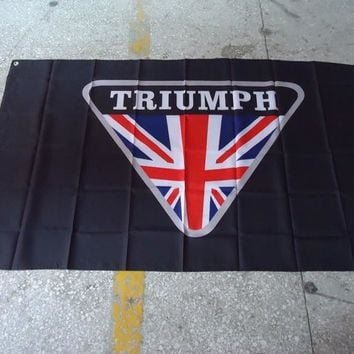 Triumph Motorcycle Flag