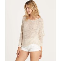 Billabong Women's Dance With Me Open Knit Cropped Sweater | Cool Wip