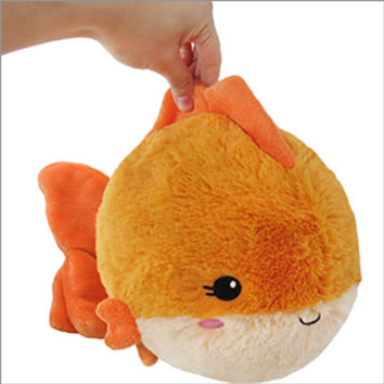Mini Squishable Fancy Goldfish: An Adorable Fuzzy Plush to Snurfle and Squeeze!