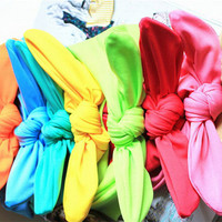 The Perfect Dolly Bow Headband for Women Teens Gift Ideas Bandana Stretchy Hair Tie Hair Band Yoga Workout Retro Rockabilly Pin Up