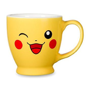 Pikachu Big Face Coffee Mug