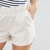 Vero Moda Tall Woven Soft Shorts at asos.com