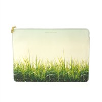 "Grass Is Always Greener Techno 13"" Zip Case"