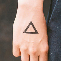 Tattly Triangle Temporary Tattoos