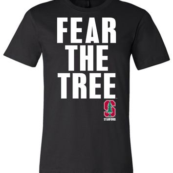 Official NCAA Stanford University Cardinal SU The Stanford Tree ALL RIGHT NOW! Fear The Tree Unisex T-Shirt - stan1013