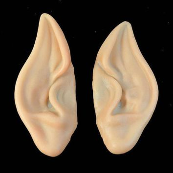 MDIGIJ5 JECKSION Embouts 2016 1Pair Halloween Pointed Fairy Elf Cosplay Costume Ear Tips  Shipping #LSN