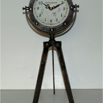 Victorian Tripod Table Clock