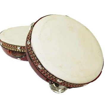 FRAME TAMBOURINE DRUM - JAMTOWN WORLD INSTRUMENTS 6-INCH