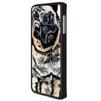 pugs alot dog 2c61e925-3c75-4cda-afab-575d17a364fd for Samsung Galaxy S6 Edge Plus Case *RA*