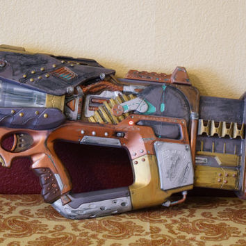 Nerf Firefly Cosplay Steampunk Weapon Gun Battle Damage Version 2