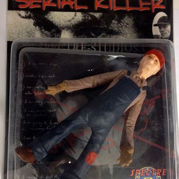Very Rare Spectre Studios Ed Gein Serial Killer Action Figure Series One SEALED!