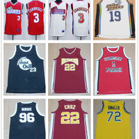 Cheap Men's 1 Fredro Starr Shorty Motaw #3 Cambridge Red White 19 Aaliyah22 Timo Cruz 23 Tournament 72 Biggie Smalls 96 Birdie Jersey