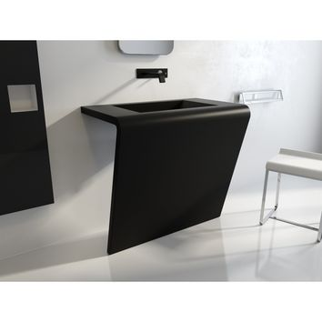 "Settantacinque Single Sink Bathroom Vanity Console Stainless Steel 24""/ 30""/ 32"" / 36"" - MIDE Sink"