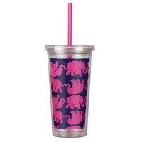 Lilly Pulitzer Straw Tumbler - Tusk In The Sun - Dwellings