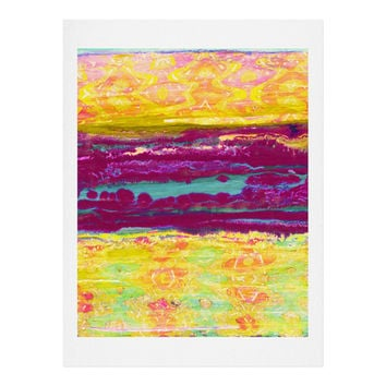 Ingrid Padilla Distressed Art Print