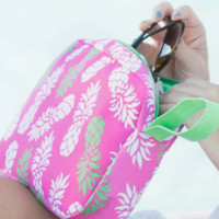 Pineapple Summer Cosmetic Bag
