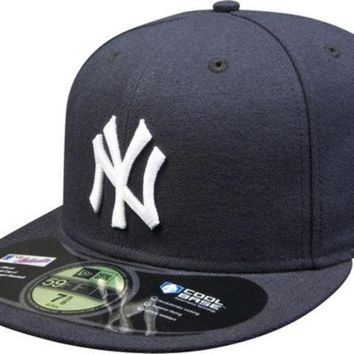 ESBON MLB New York Yankees New Era 59Fifty Onfield Fitted Hat