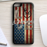 Deer Camo With Love Flag iPhone 7 Plus Case | armeyla.com