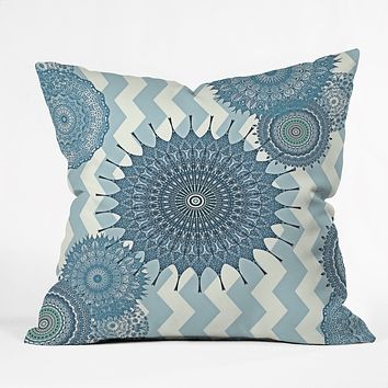 Monika Strigel My Blue Winter Dreams Throw Pillow