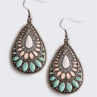 Multi Teardrop Earrings