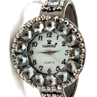 Jewel Cuff Watch