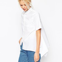 ASOS Clean Asymetric Shirt