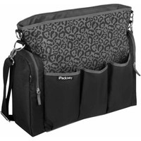Walmart: iPack Baby Cheetah Diaper Bag, Black