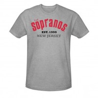 The Sopranos Collegiate Logo Men's T-Shirt