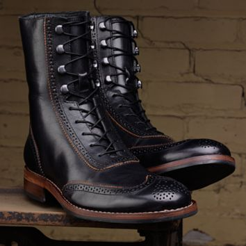 eff64e791aaea Men's Winchester 1000 Mile Brogue Boot - W06492 - Vintage Boots | Wolverine
