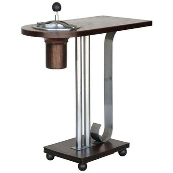 Pre-owned Art Deco Ashtray Side Table by Charles Hardy